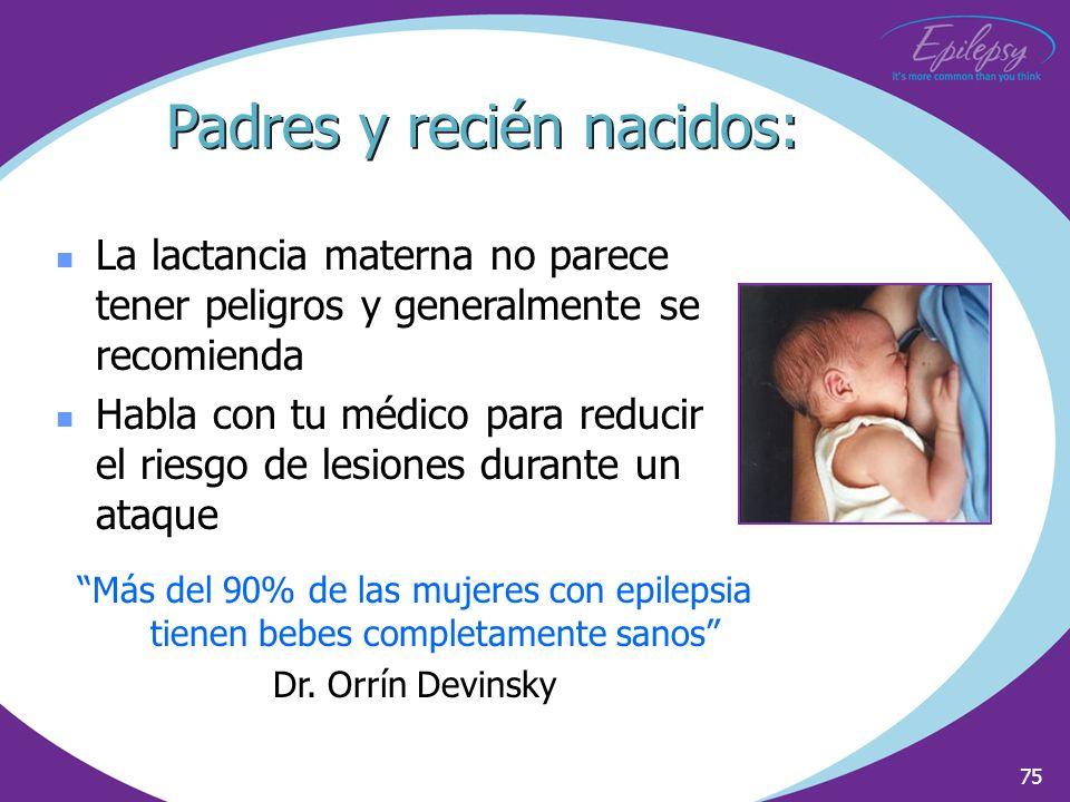 Padres y recién nacidos:
