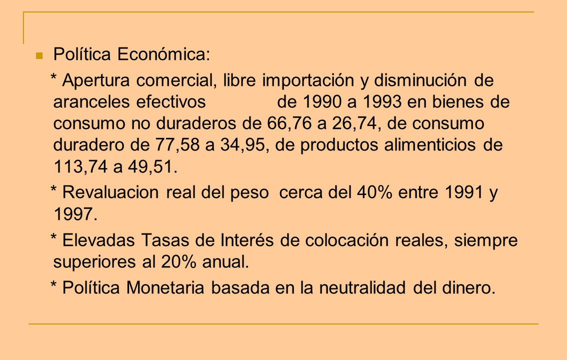 Política Económica: