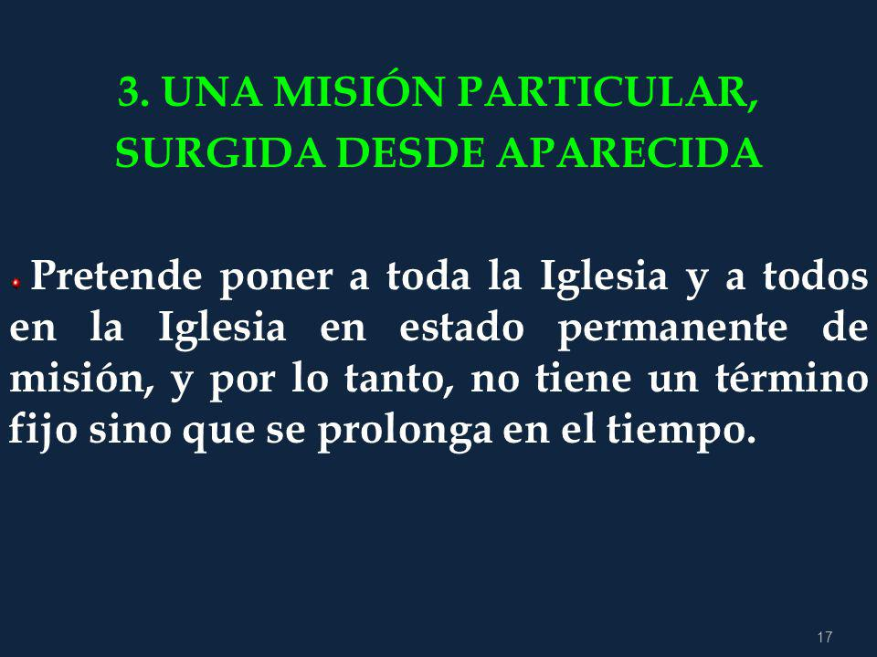 SURGIDA DESDE APARECIDA