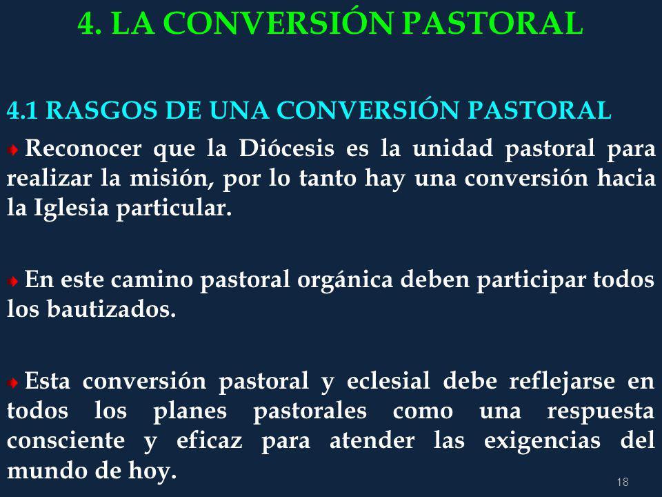 4. LA CONVERSIÓN PASTORAL