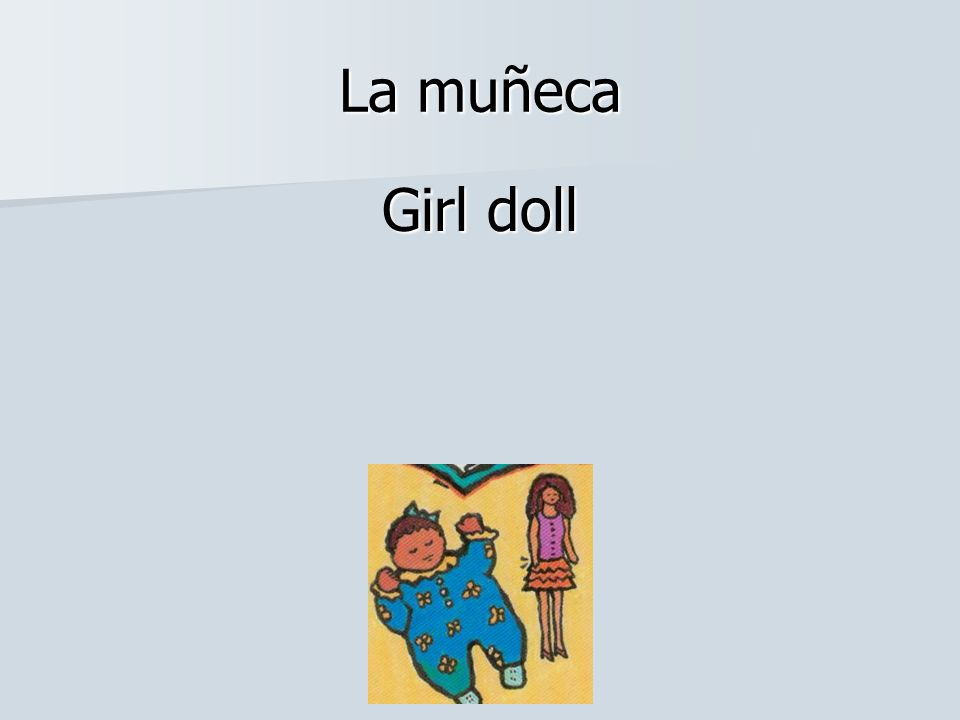 La muñeca Girl doll