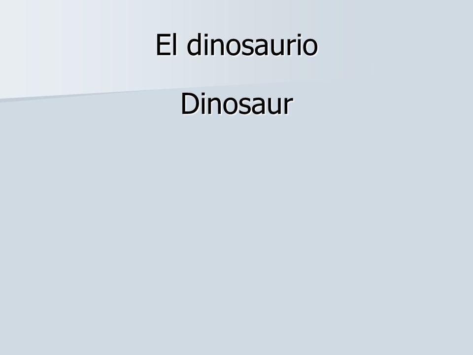 El dinosaurio Dinosaur