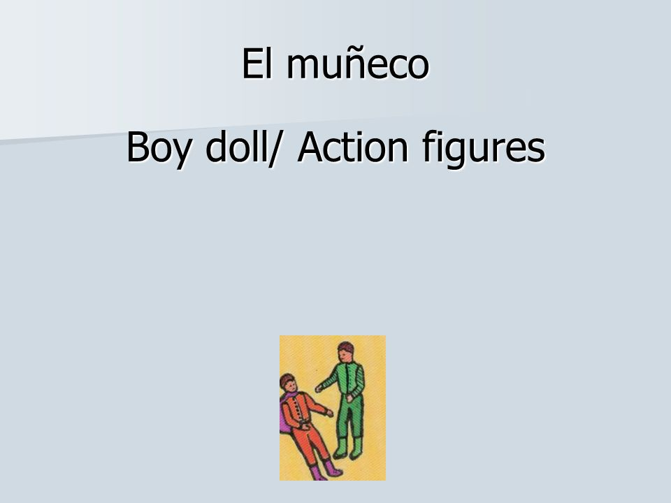 Boy doll/ Action figures