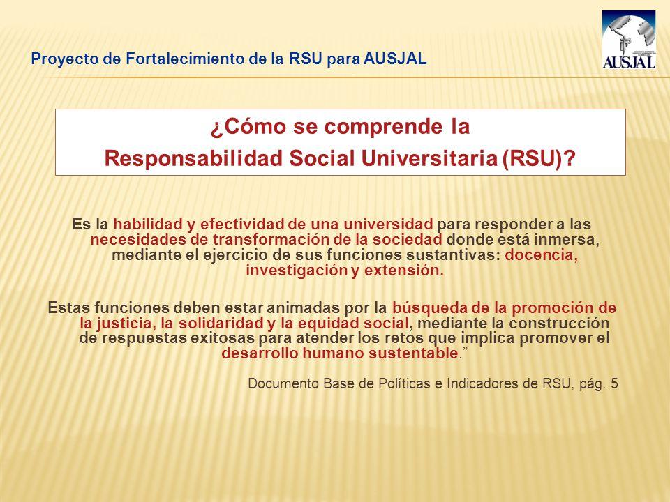 Responsabilidad Social Universitaria (RSU)