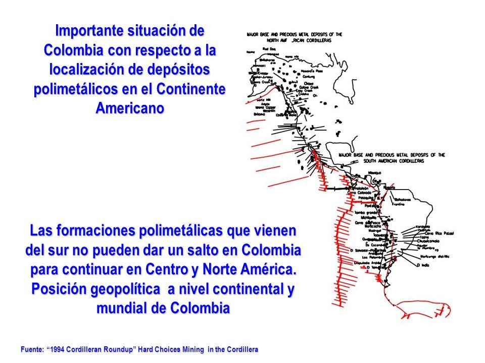 Posición geopolítica a nivel continental y mundial de Colombia