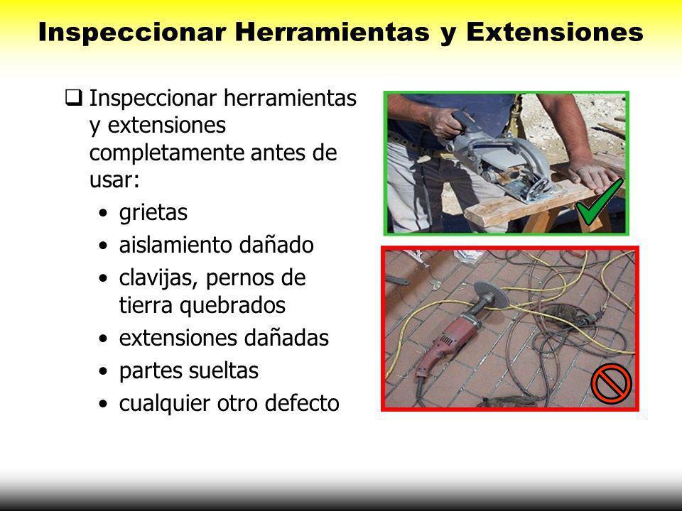 Inspeccionar Herramientas y Extensiones