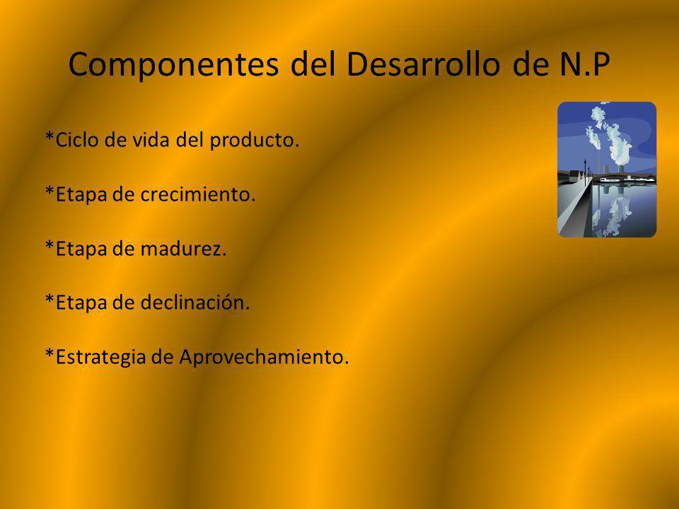 Componentes del Desarrollo de N.P