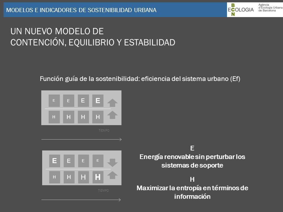 CONTENCIÓN, EQUILIBRIO Y ESTABILIDAD