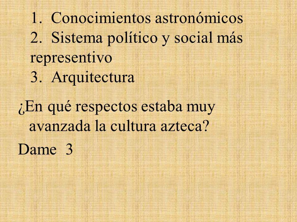1. Conocimientos astronómicos 2