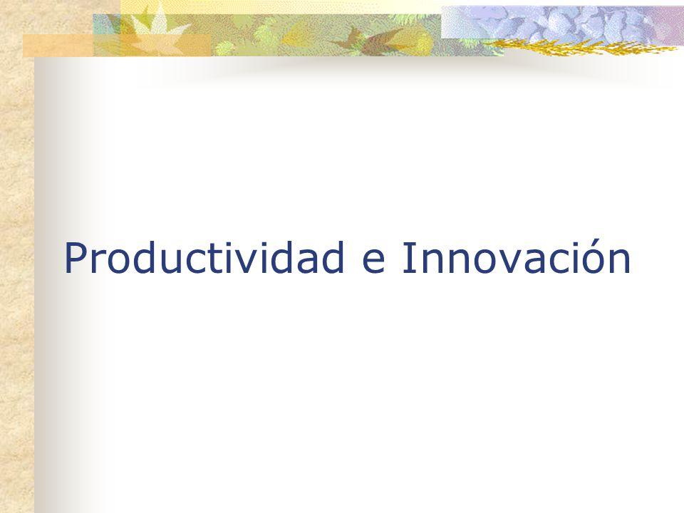 Productividad e Innovación