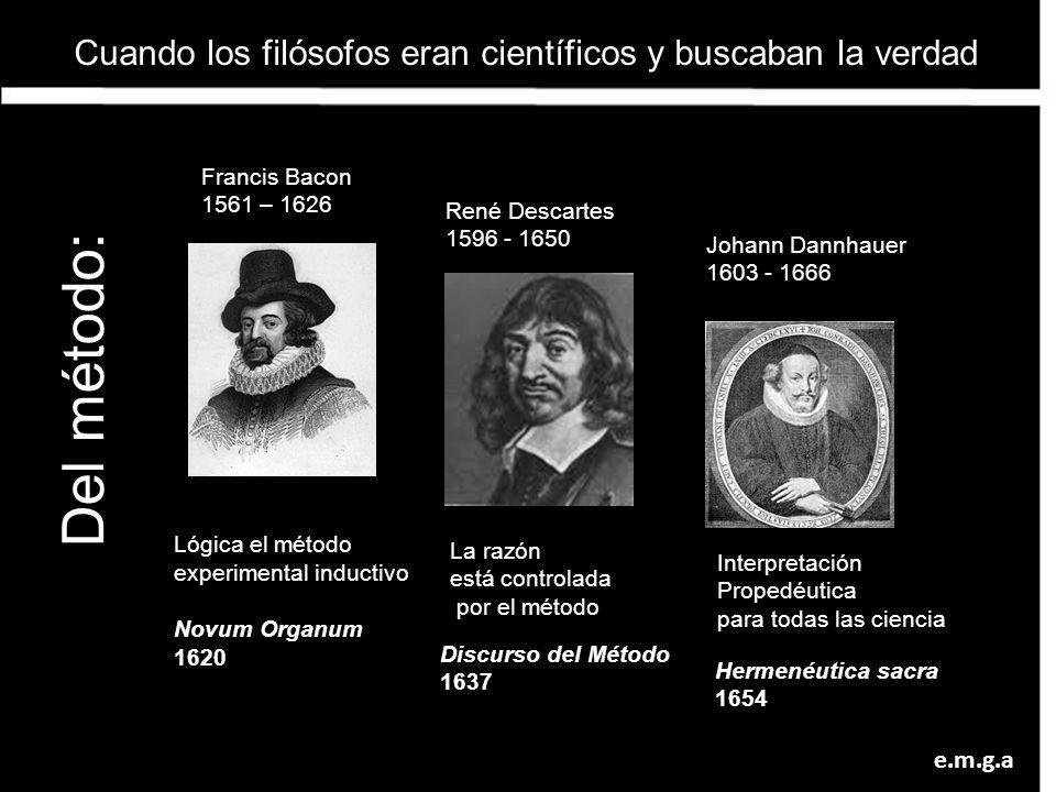 Cuando los filósofos eran científicos y buscaban la verdad