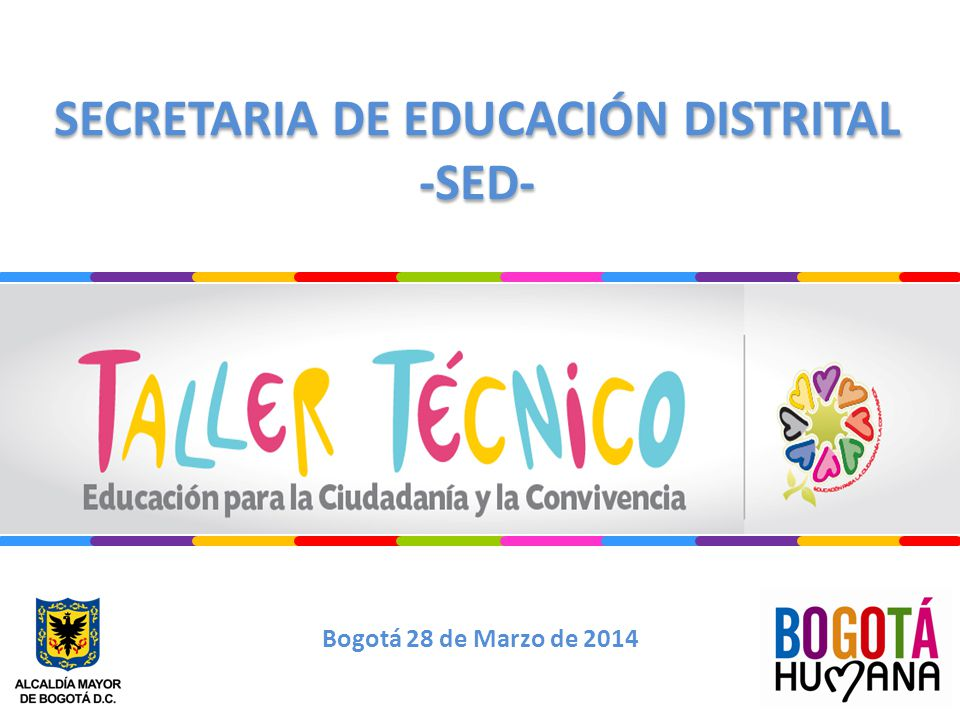 SECRETARIA DE EDUCACIÓN DISTRITAL