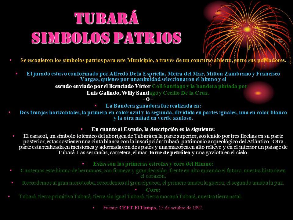 TUBArá SIMBOLOS PATRIOS