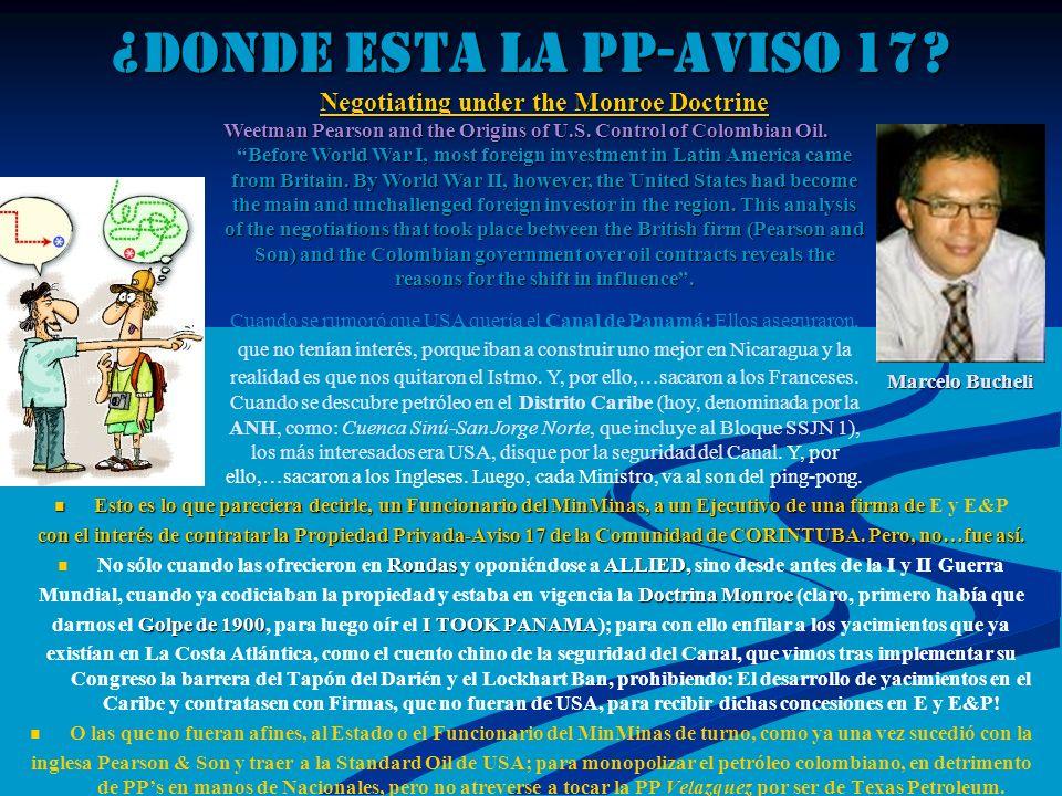 ¿DONDE ESTA LA PP-AVISO 17