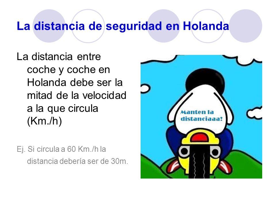 La distancia de seguridad en Holanda