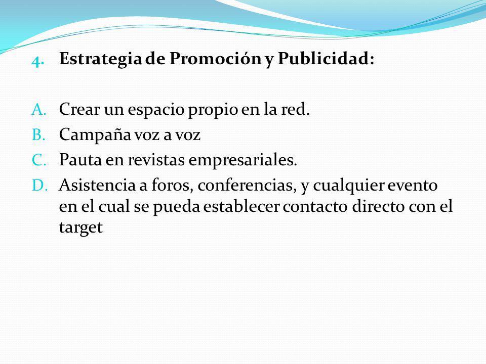 Estrategia de Promoción y Publicidad: