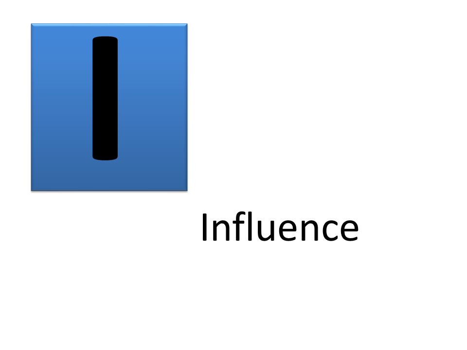 I Influence
