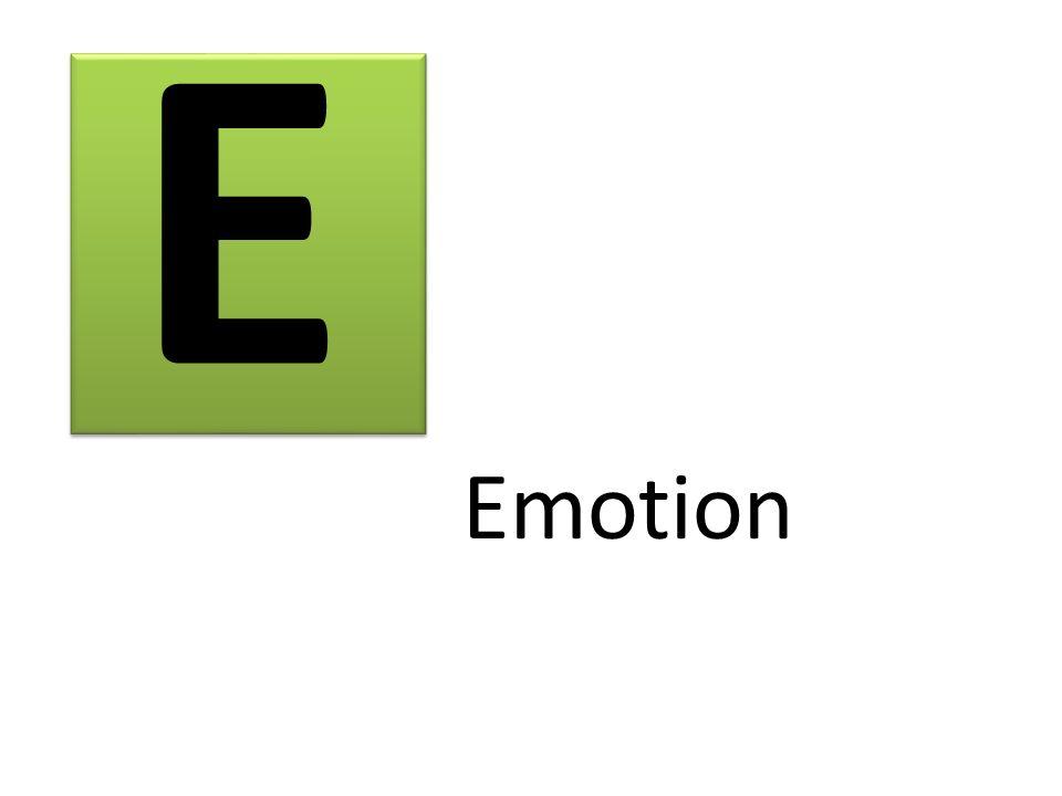 E Emotion