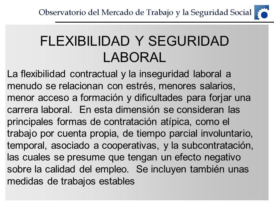 FLEXIBILIDAD Y SEGURIDAD LABORAL