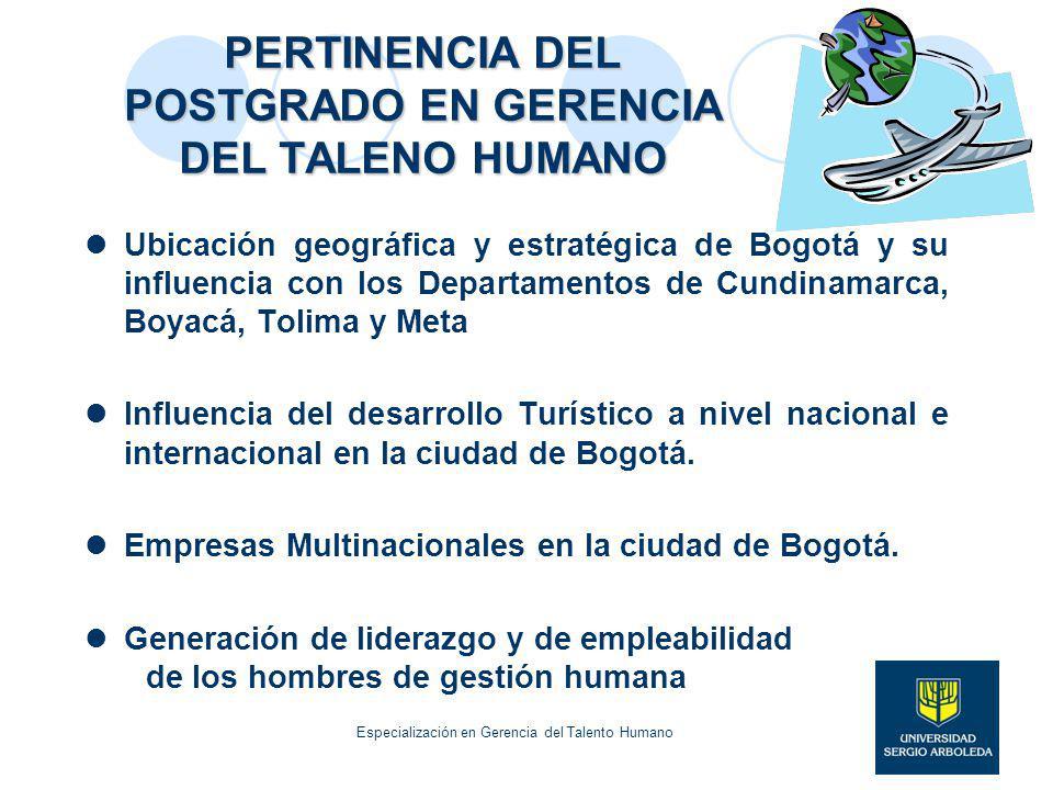 PERTINENCIA DEL POSTGRADO EN GERENCIA DEL TALENO HUMANO