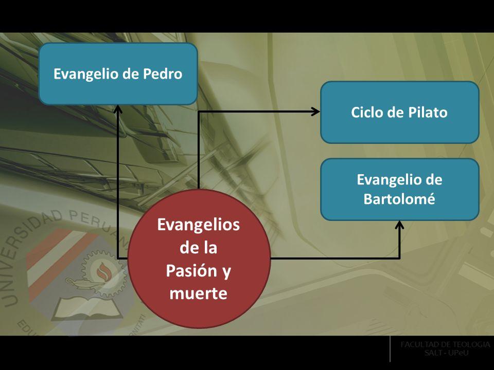 Evangelio de Bartolomé Evangelios de la Pasión y muerte