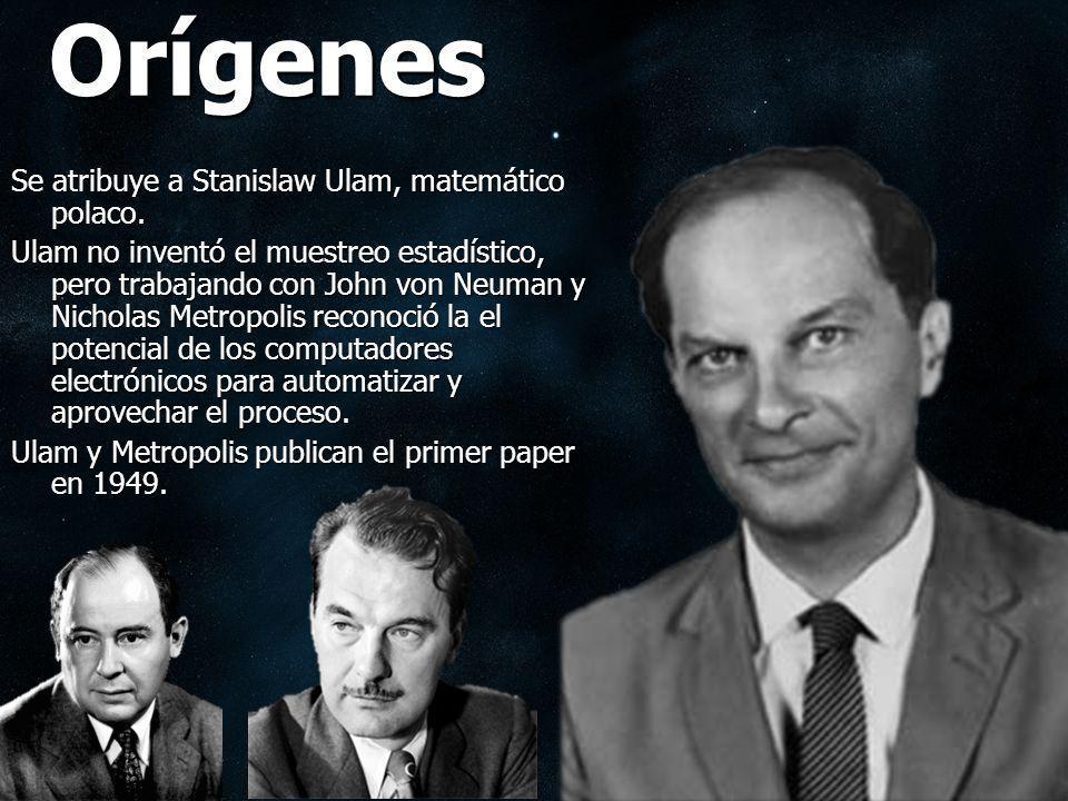 Orígenes Se atribuye a Stanislaw Ulam, matemático polaco.