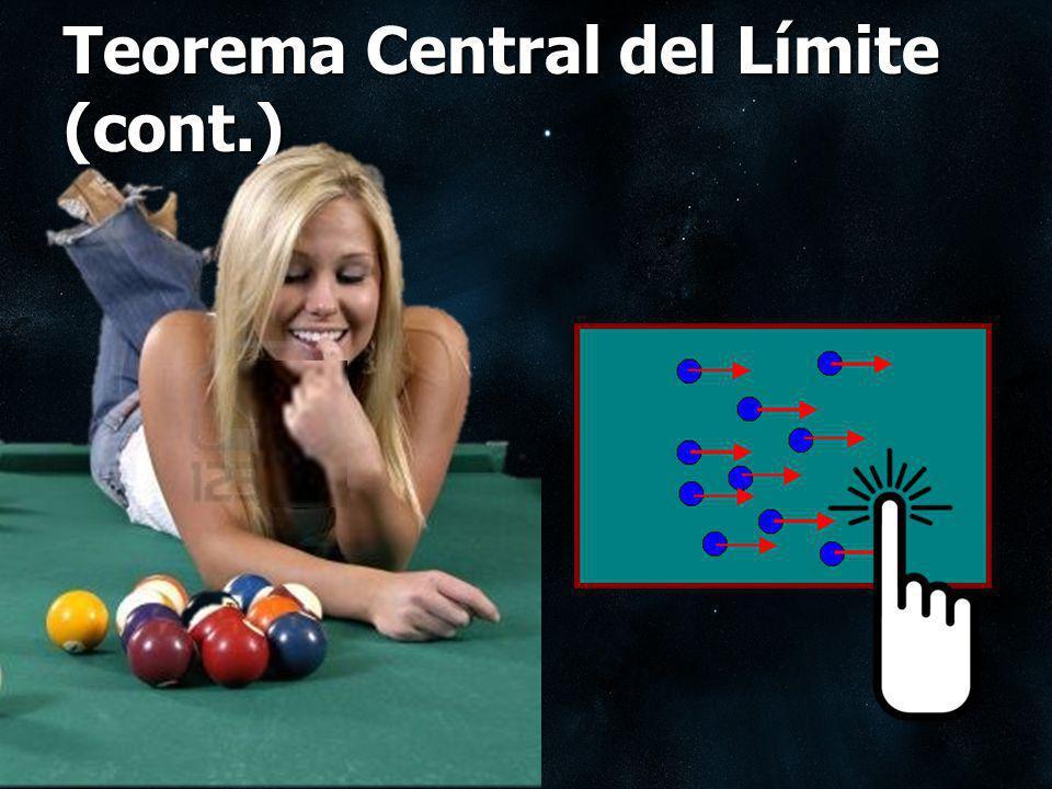 Teorema Central del Límite (cont.)