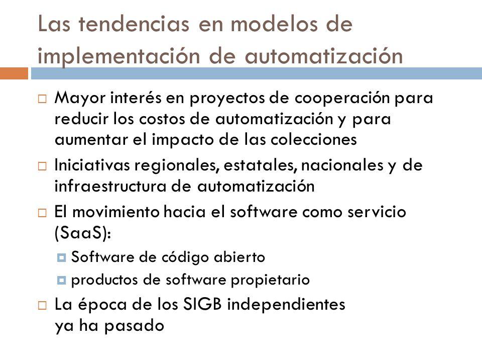 Las tendencias en modelos de implementación de automatización