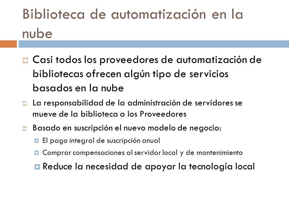 Biblioteca de automatización en la nube
