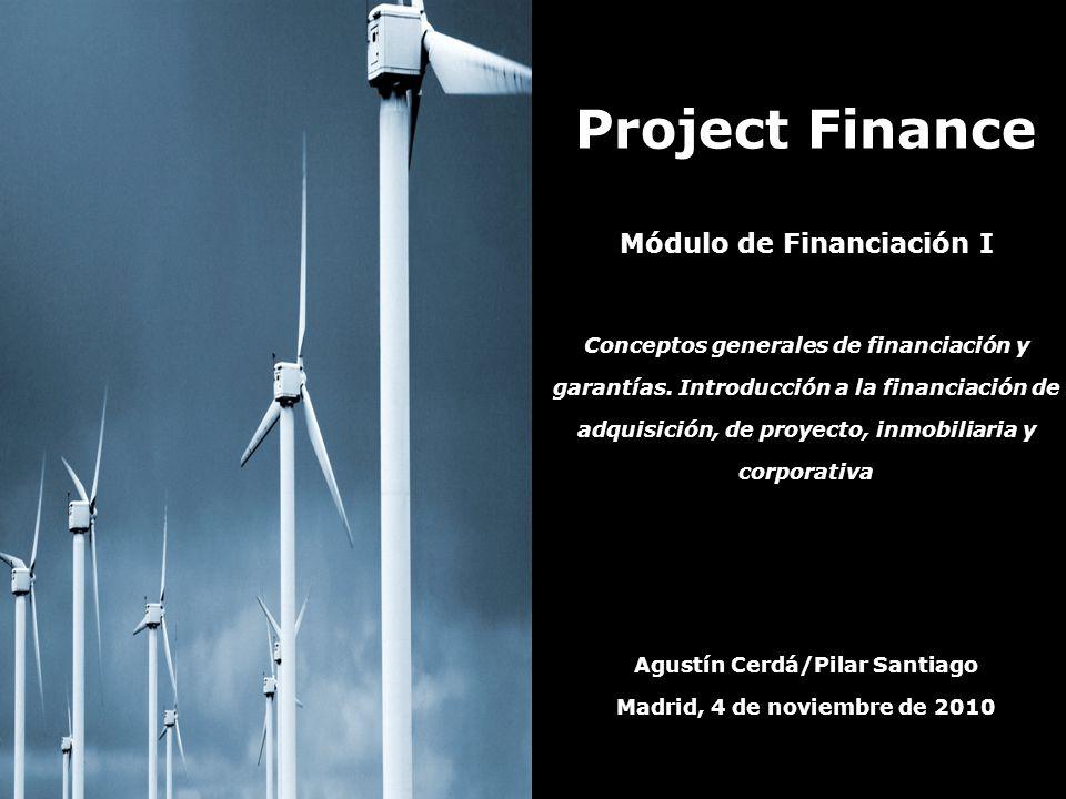 Módulo de Financiación I Agustín Cerdá/Pilar Santiago