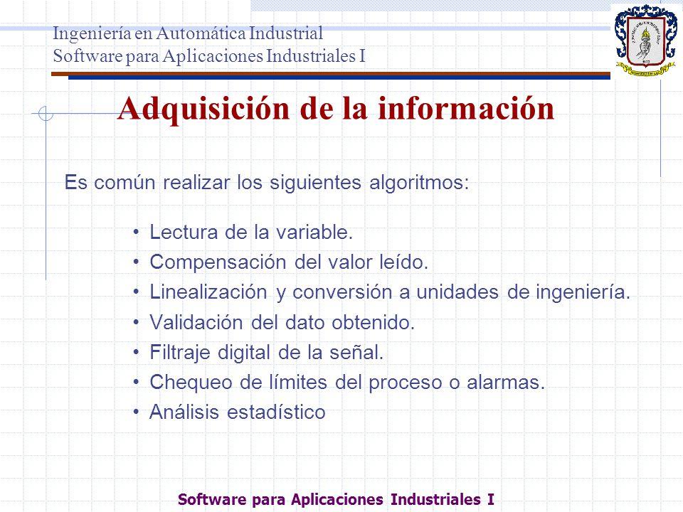 Adquisición de la información