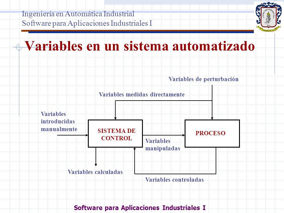 Variables en un sistema automatizado