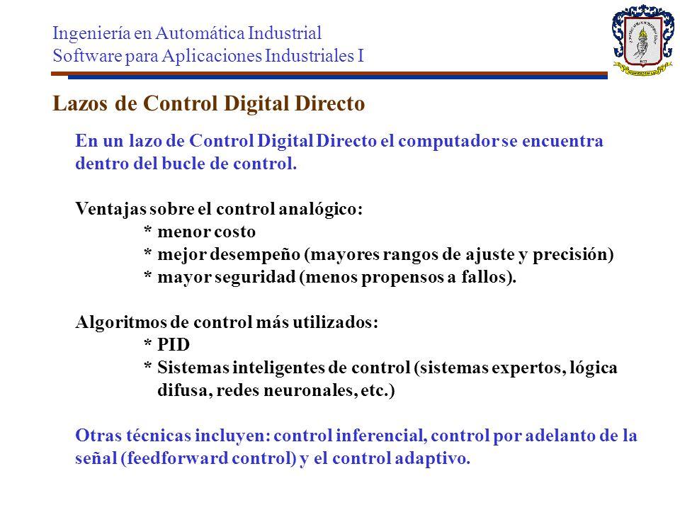 Lazos de Control Digital Directo