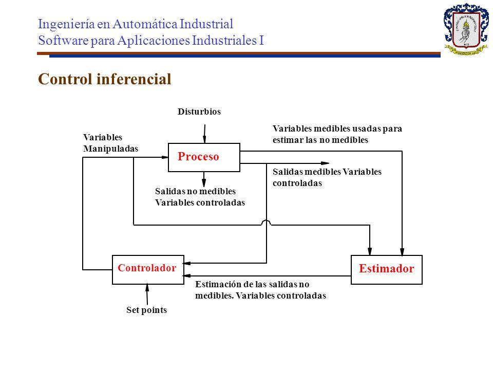 Control inferencial Ingeniería en Automática Industrial