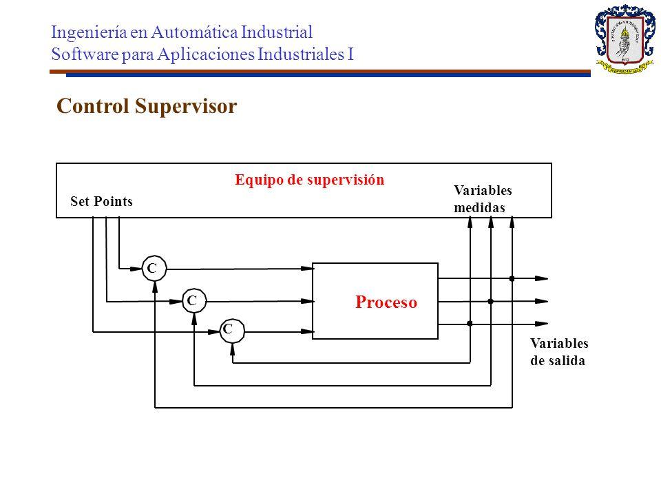 Control Supervisor Ingeniería en Automática Industrial