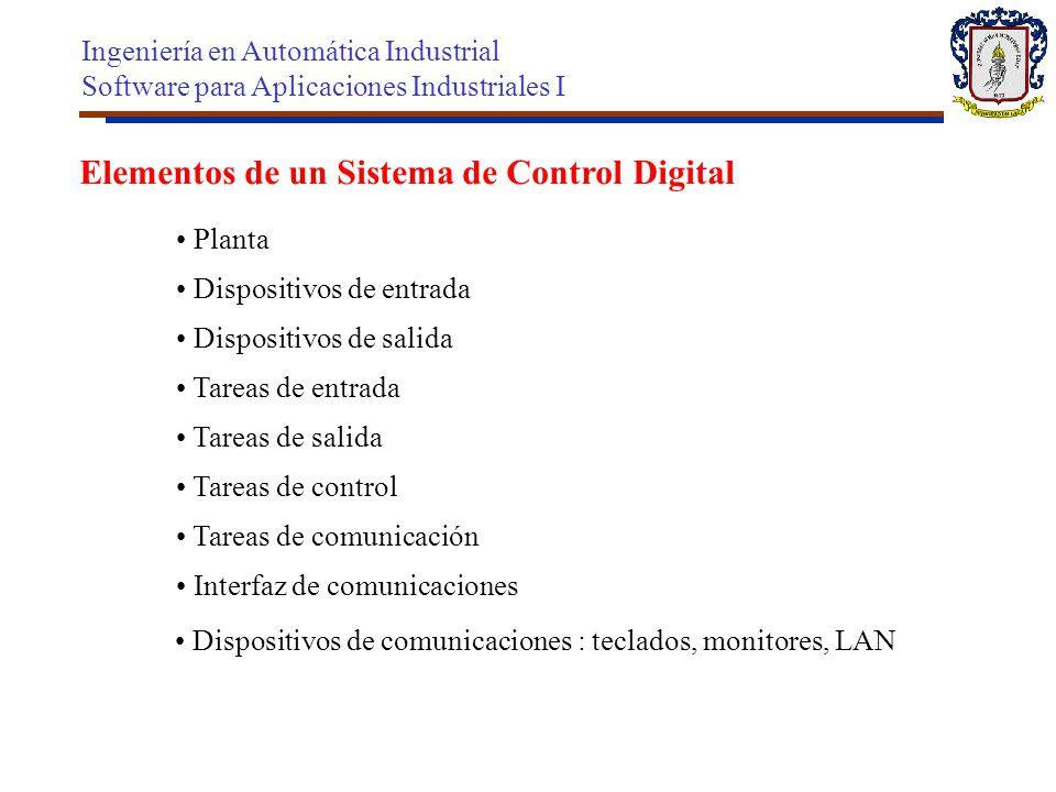 Elementos de un Sistema de Control Digital