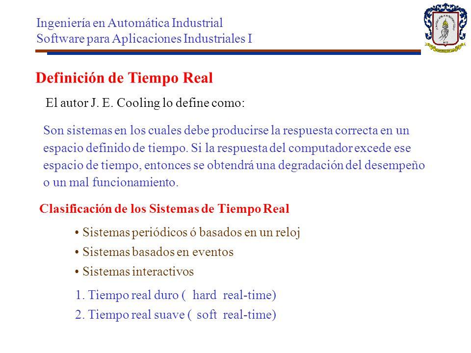 Definición de Tiempo Real