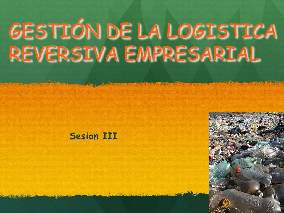 GESTIÓN DE LA LOGISTICA REVERSIVA EMPRESARIAL
