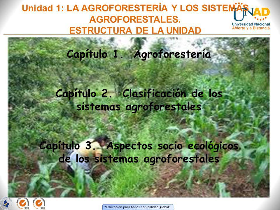 Capítulo 1. Agroforestería