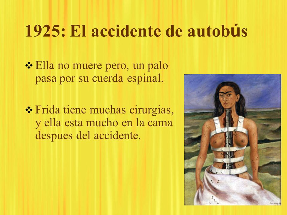 1925: El accidente de autobús
