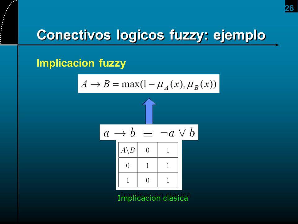 Conectivos logicos fuzzy: ejemplo