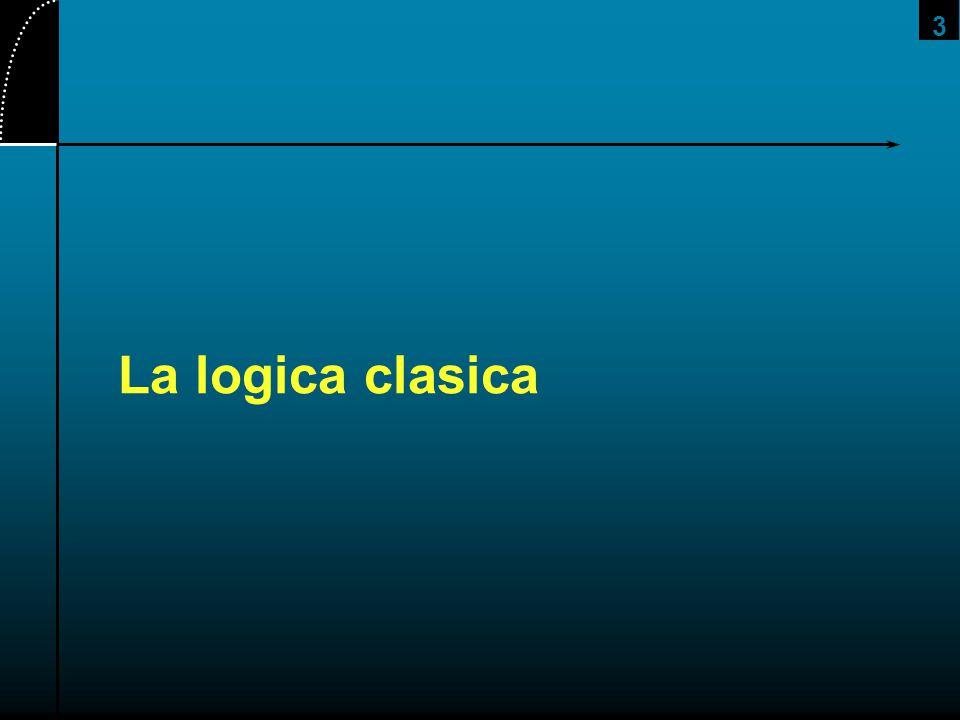 2017/4/1 La logica clasica