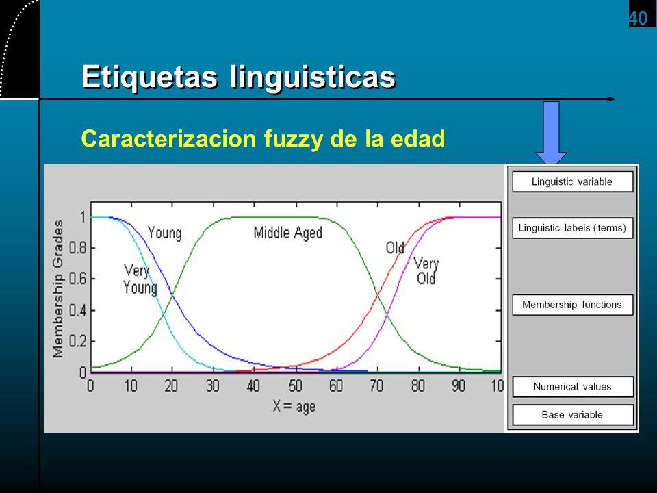 Etiquetas linguisticas
