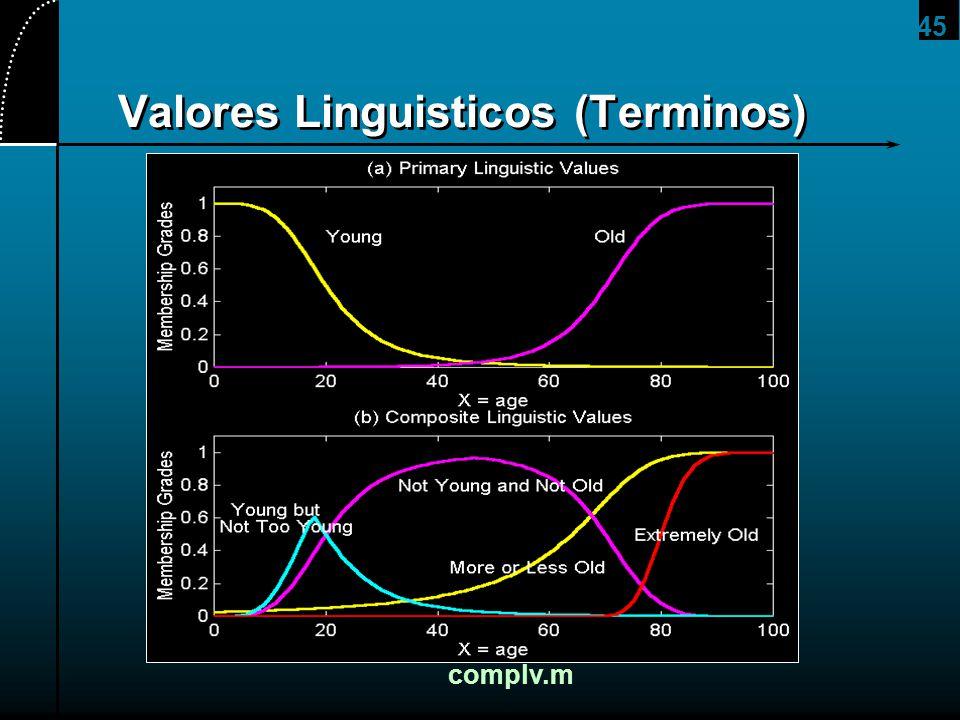 Valores Linguisticos (Terminos)