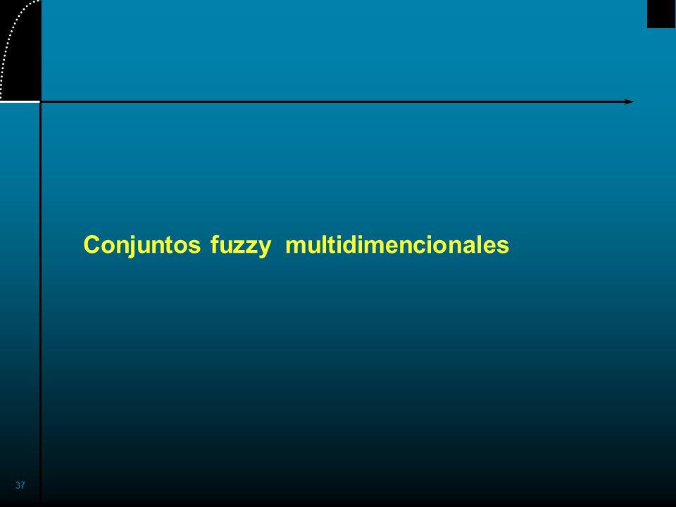 Conjuntos fuzzy multidimencionales