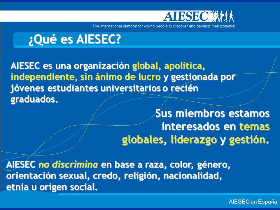 ¿Qué es AIESEC