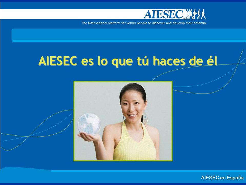 AIESEC es lo que tú haces de él