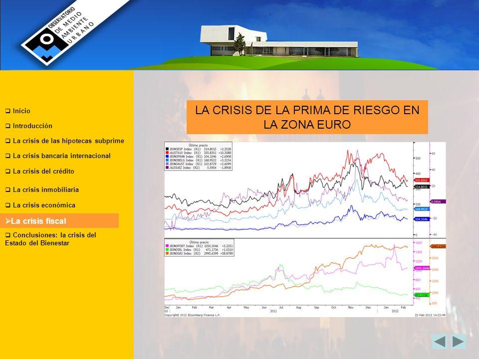 LA CRISIS DE LA PRIMA DE RIESGO EN LA ZONA EURO