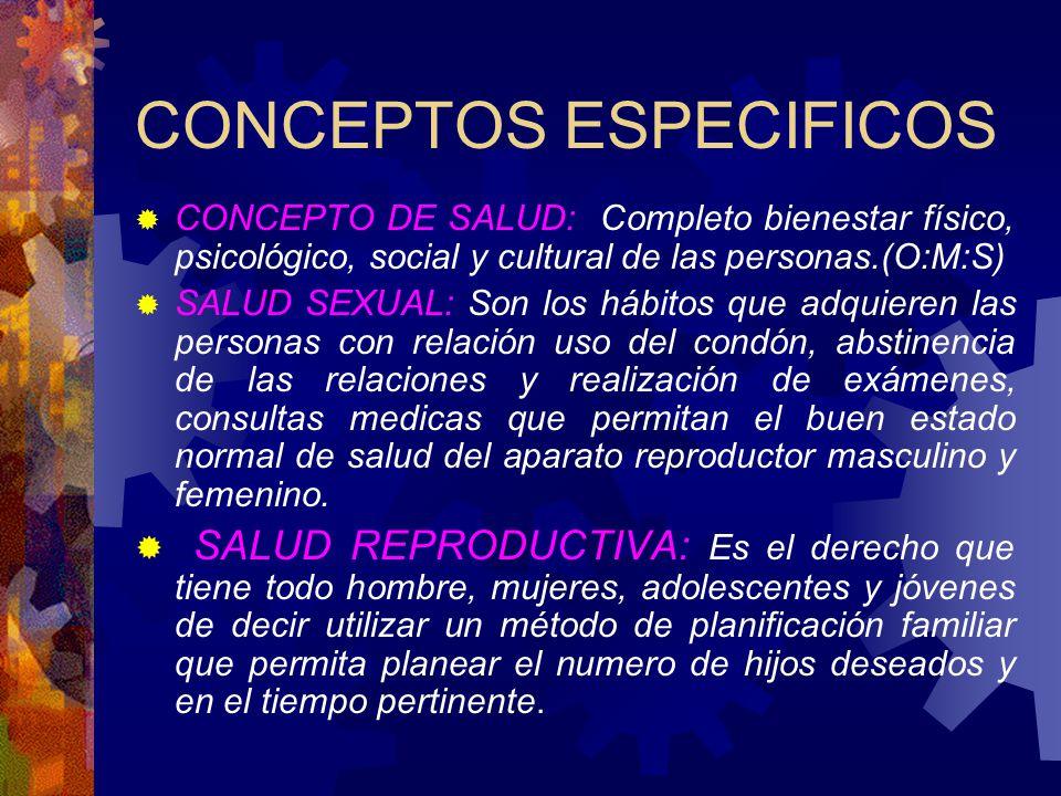 CONCEPTOS ESPECIFICOS