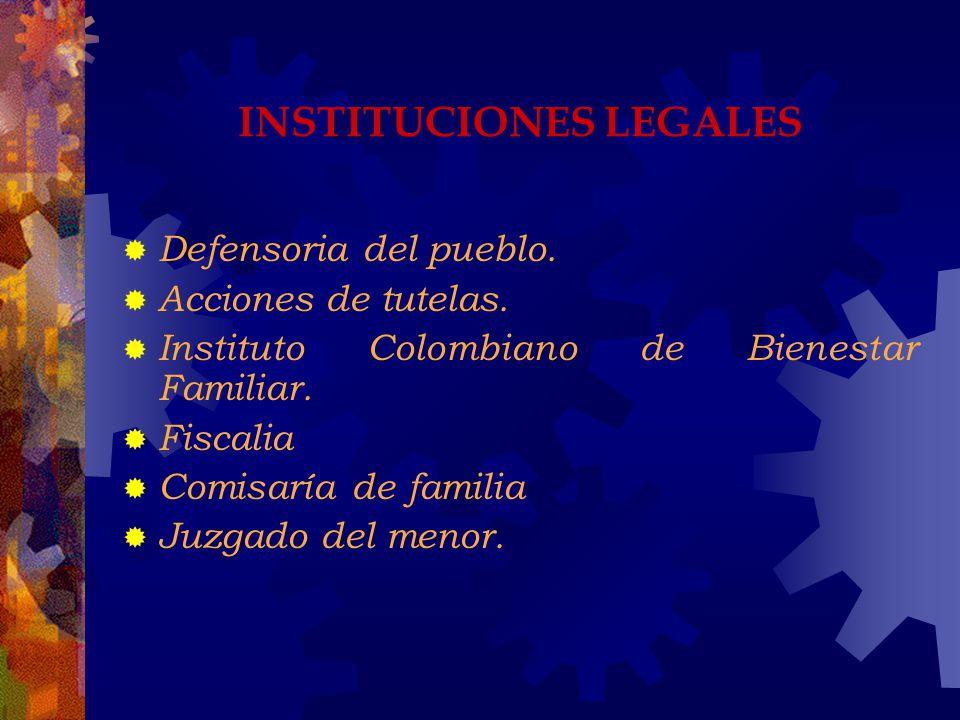 INSTITUCIONES LEGALES
